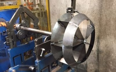 Low Noise Motor Cooling Impeller